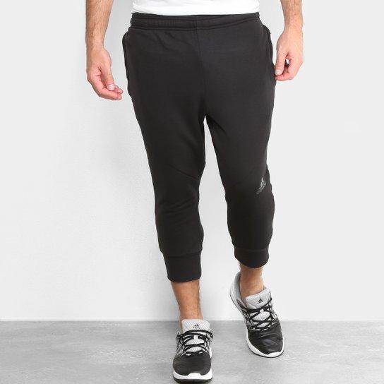 Calça Adidas 3 4 Climacool Masculina - Preto - Compre Agora  aaf681c5f9f52