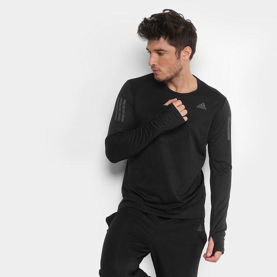 701d7cb4331 Camiseta Adidas Response Manga Longa Masculina - Compre Agora
