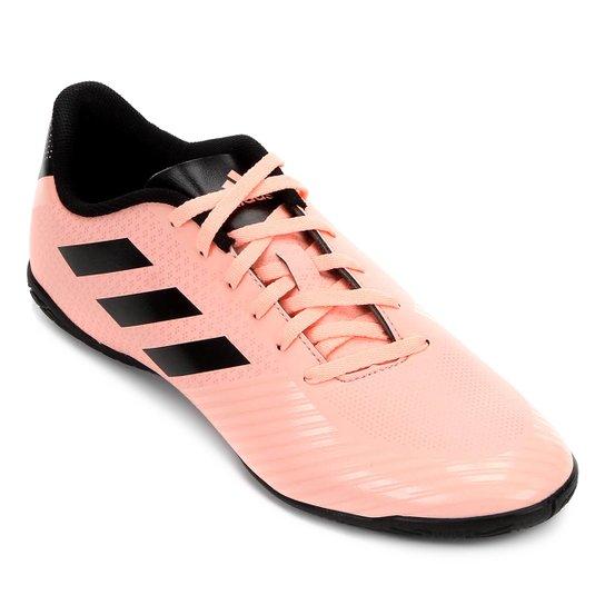 Chuteira Futsal Adidas Artilheira III IN - Salmão e Preto - Compre ... 5304519e49d47
