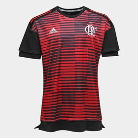 ec4897e3e Camisa Flamengo I 17 18 N° 10 - Diego Torcedor Adidas Masculina ...