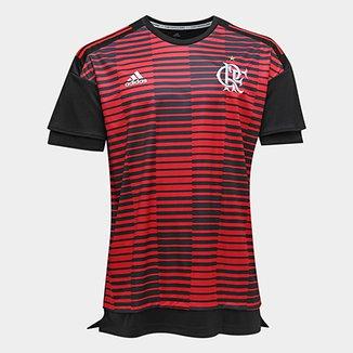 Camisa Flamengo Pré Jogo - Torcedor Adidas Masculina bde7db964279b