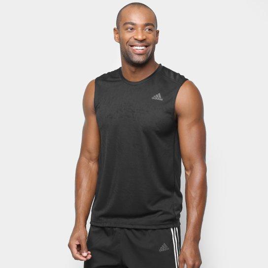 Regata Adidas Own The Run Masculina - Preto - Compre Agora  947231635d2b1