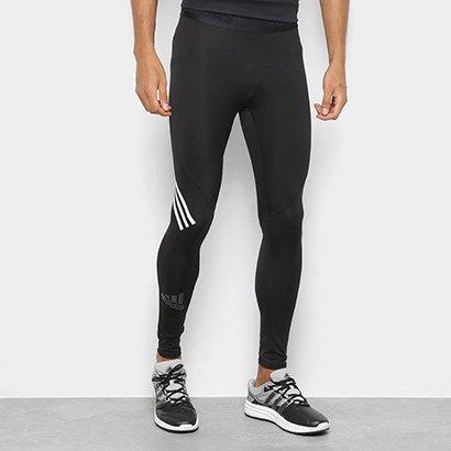Calça Legging Adidas Alphaskin Sport 3 Stripes Masculina