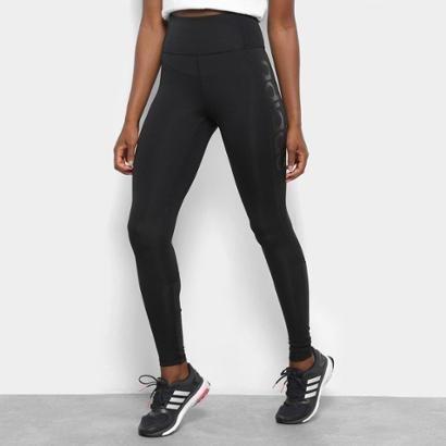 Calça Legging Adidas D2M Cós Alto Feminina