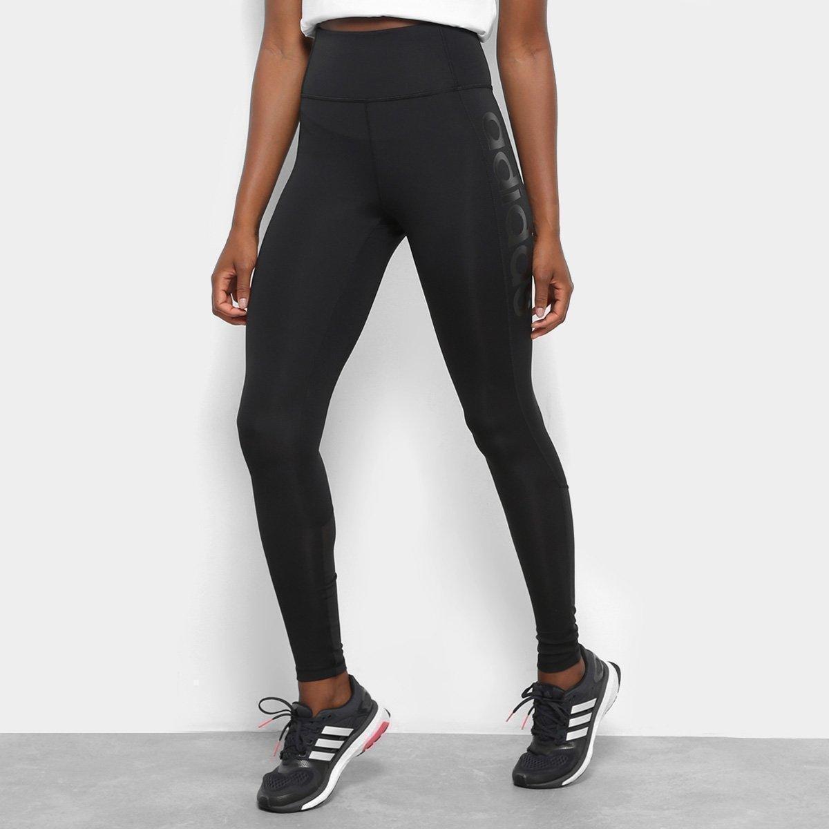 79c1da1dc 22%OFF Calça Legging Adidas Cós Alto Design 2 Move Feminina