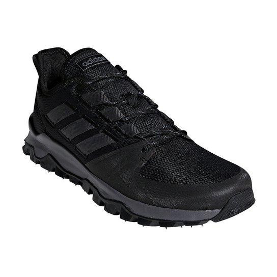 4356c37852 Tênis Adidas Kanadia Trail Masculino - Preto - Compre Agora