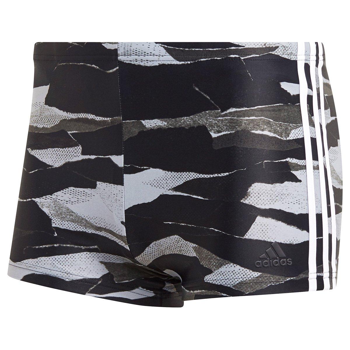 6d01679dc Sunga Boxer Adidas ColorBlock Wide Camuflada - Tam  G - Shopping ...
