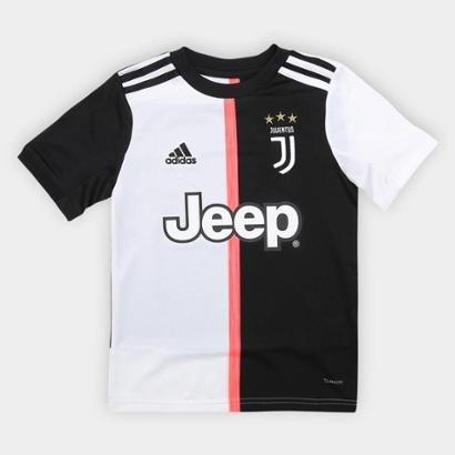 Camisa Juventus Infantil Home 19/20 s/n°Adidas