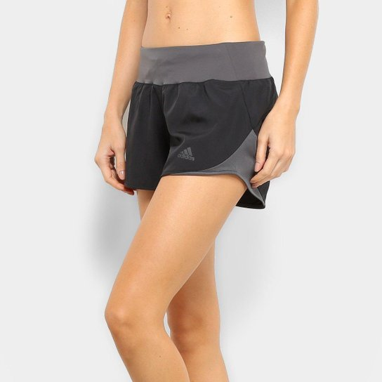 e4c0e047bd78e Short Adidas Run It Feminino - Preto | Netshoes
