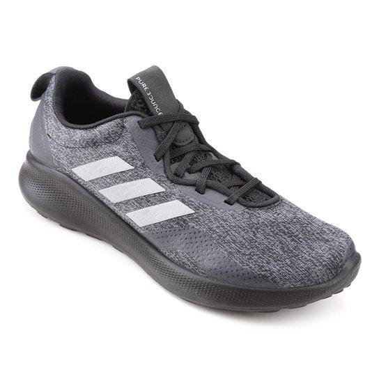 2abcd1bc618 Tênis Adidas Purebounce Street Feminino - Preto - Compre Agora ...