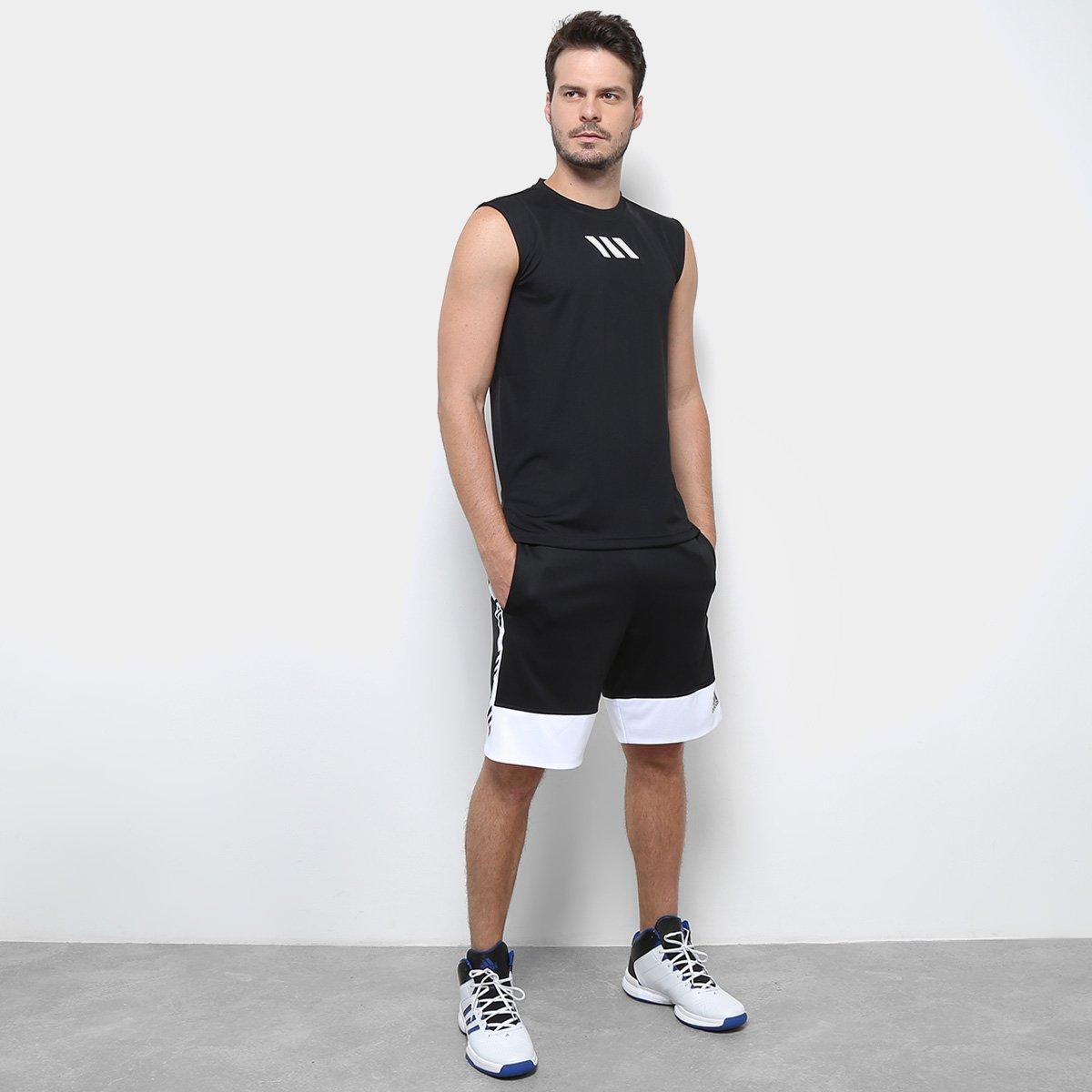b26249cb22 Regata Adidas Q2 Pro Madness Tank Masculina - Tam  P - Shopping TudoAzul