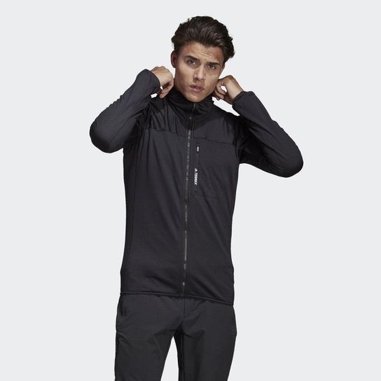 b0331495e Jaqueta Adidas Capuz TraceRocker Fleece Masculina | Netshoes