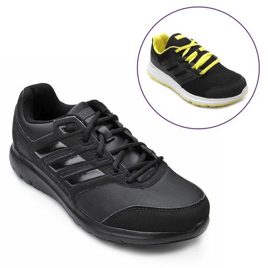 0dff69513 Kit Tênis Adidas Duramo Lite 2.0 + Tênis Adidas Galaxy 4 Masculino - Preto