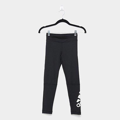 Calça Legging Infantil Adidas Yg Tr Bt Br L T