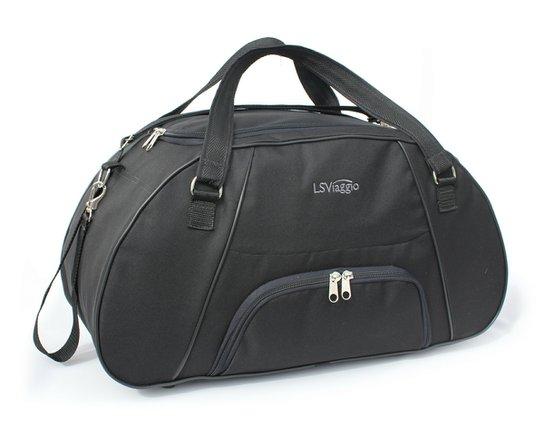094e89ebd Bolsa de Viagem LS Bolsas com bolso frontal, alças tiracolo e alças de mão -