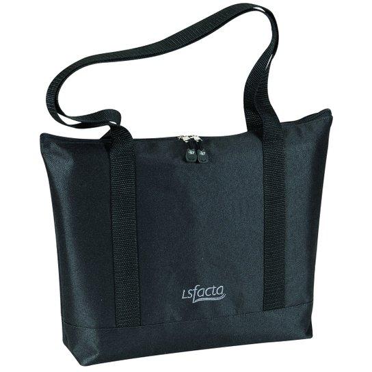 dd2720557 Bolsa Pasta Tote Bag LS Bolsas com alças de ombro - Preto | Netshoes