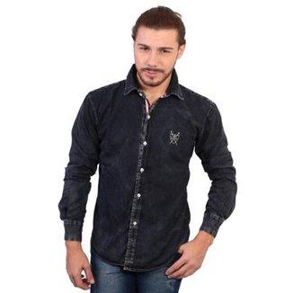 Camisa Manga Longa Polo Super Stone Masculina 7d47d26f60c
