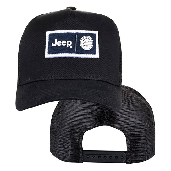 Boné Jeep e WSL Trucker - Compre Agora  34f10a3b376