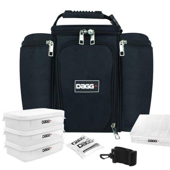 c6eec85a09a Bolsa Térmica Fitness Dagg 6L - Preto - Compre Agora
