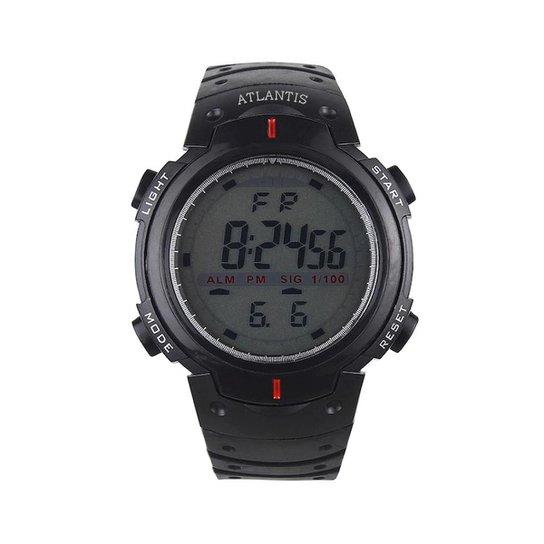 baad2846941 Relógio Digital Running - Preto - Compre Agora