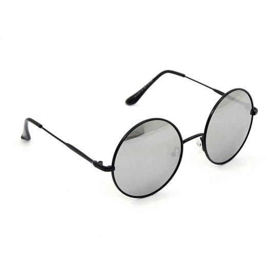 848e6b97b Óculos Bijoulux de Sol Redondo Espelhado | Netshoes