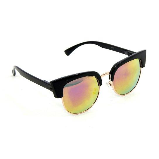 01d3c993e6407 Óculos Bijoulux de Sol Gatinho Retrô Espelhado - Compre Agora