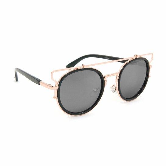 44c2f1f27 Óculos Bijoulux de Sol Redondo e Espelhado | Netshoes