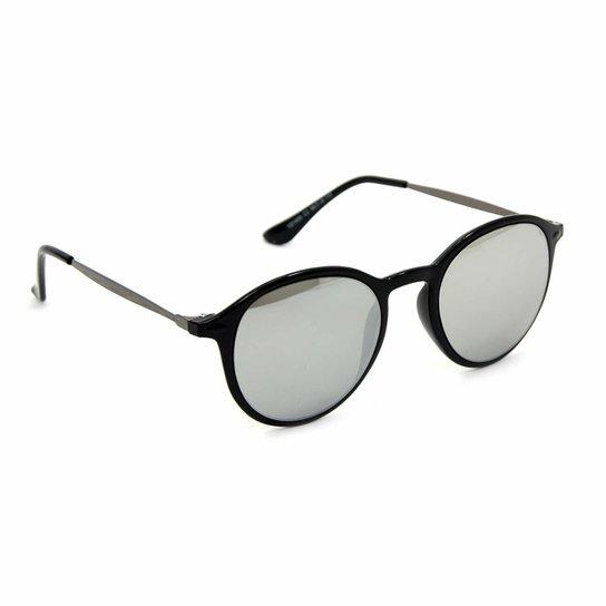 6b7daa3fe Óculos Bijoulux de Sol Redondo Espelhado | Netshoes