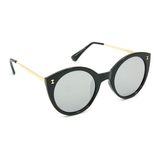 aeb736610a Óculos Bijoulux de Sol Espelhado Gatinha - Compre Agora | Netshoes