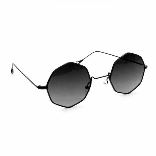 b16081fe5 Óculos de Sol Retrô - Preto | Netshoes