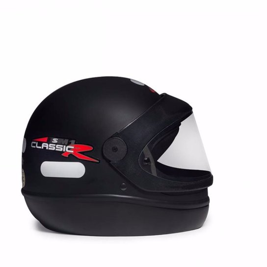 593906e0a Capacete Taurus San Marino - Preto   Netshoes