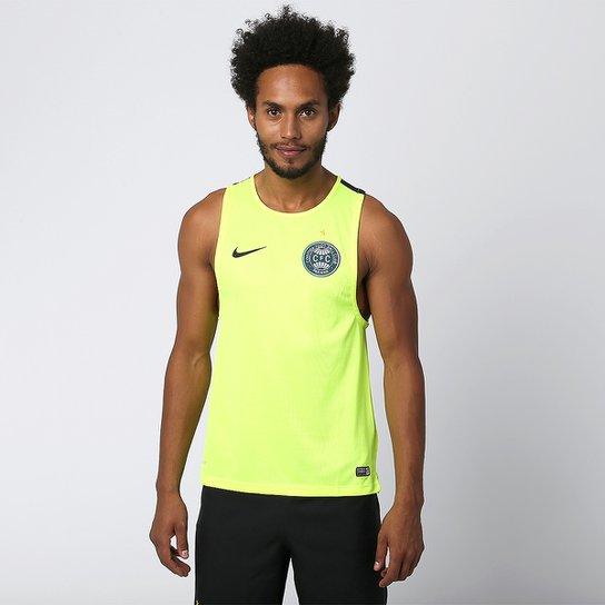 078b73de811 Camiseta Regata Nike Coritiba Treino 2015 - Verde Limão - Compre ...