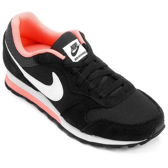 ffdade06d7 Tênis Nike Md Runner 2 Feminino - Preto - Compre Agora