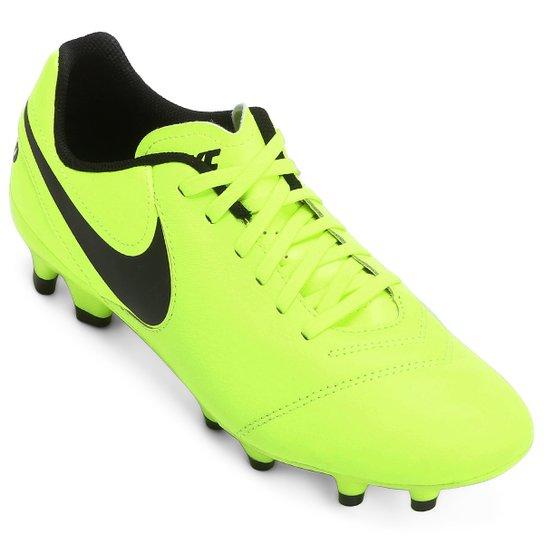 Chuteira Campo Nike Tiempo Genio 2 Leather FG - Compre Agora  dee603b7a8758