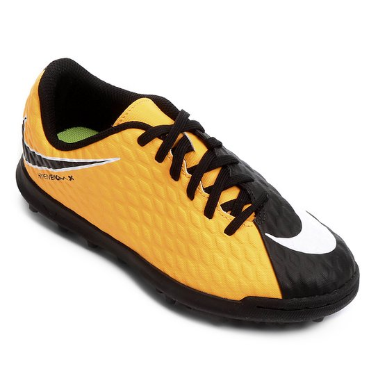 Chuteira Society Infantil Nike Hypervenom Phade 3 TF - Compre Agora ... 994a2fced94a3