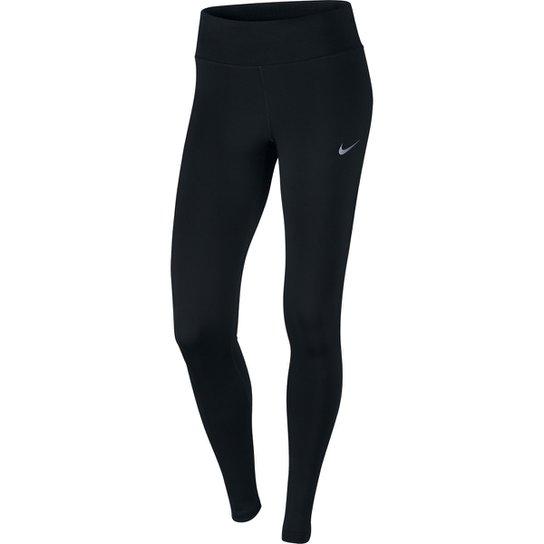 Calça Legging Nike Dri-FIT Power Essential Feminina - Preto - Compre ... 506ab1d7f30bd