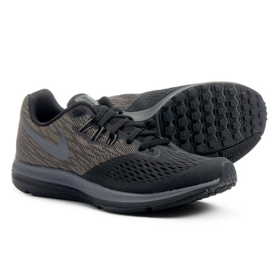 e612a5cc0d0 Tênis Nike Zoom Winflo 4 Masculino - Preto+Areia. Loading.