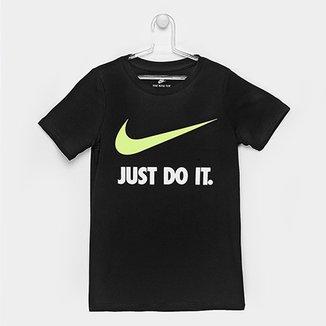 839aa8633cd06 Camiseta Infantil Nike Jdi Swoosh Tee Yth
