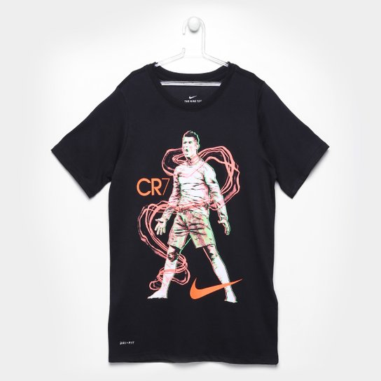 a94854cdd0 Camiseta Infantil Nike CR7 Hero   Netshoes