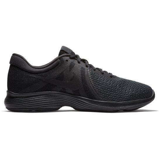 Tênis Nike Revolution 4 Masculino - Preto - Compre Agora  21babccf15901