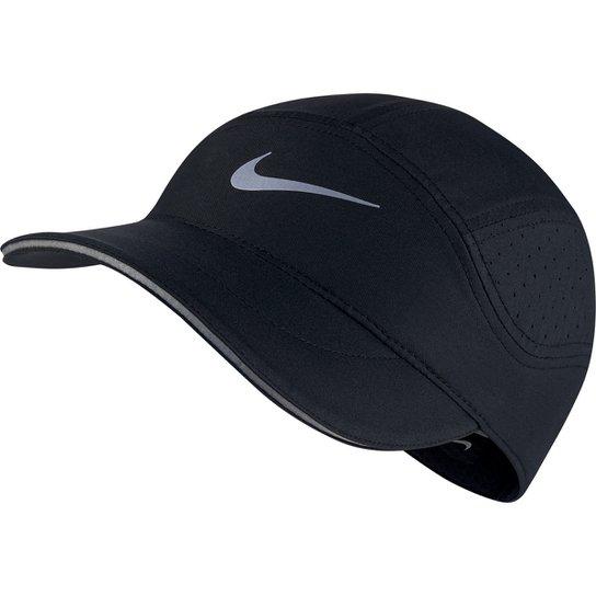 Boné Nike Aba Curva Arobill TW Elite - Preto - Compre Agora  1bc9a10501fbf