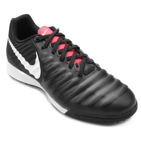 cd689bb6d78892 Chuteira Society Nike Tiempo Legend 7 Academy TF - Preto | Netshoes