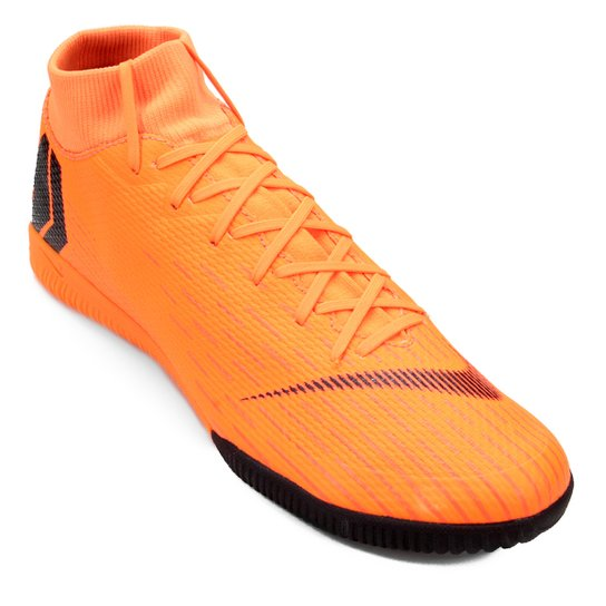 e500d0a32f9ec Chuteira Futsal Nike Mercurial Superfly 6 Academy - Laranja e Preto ...