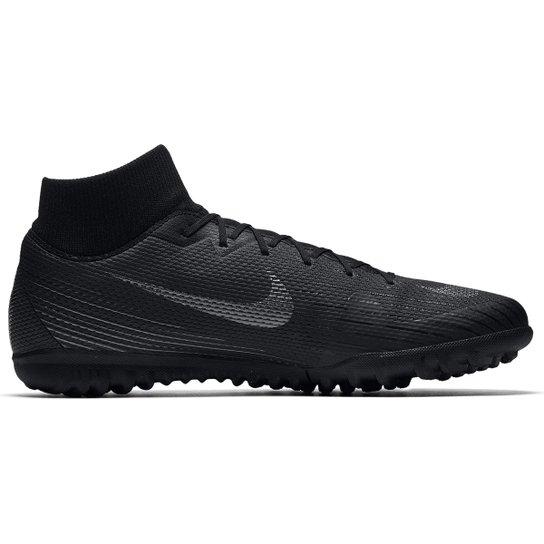 d4f530b6fc Chuteira Society Nike Mercurial Superfly 6 Academy - Preto - Compre ...