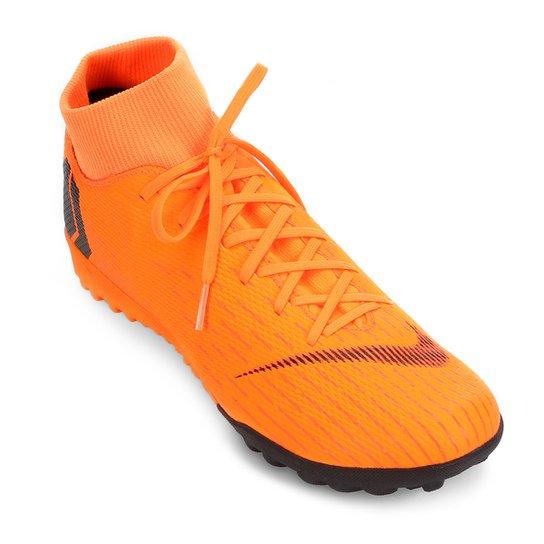 05ddabc149 Chuteira Society Nike Mercurial Superfly 6 Academy - Laranja e Preto ...