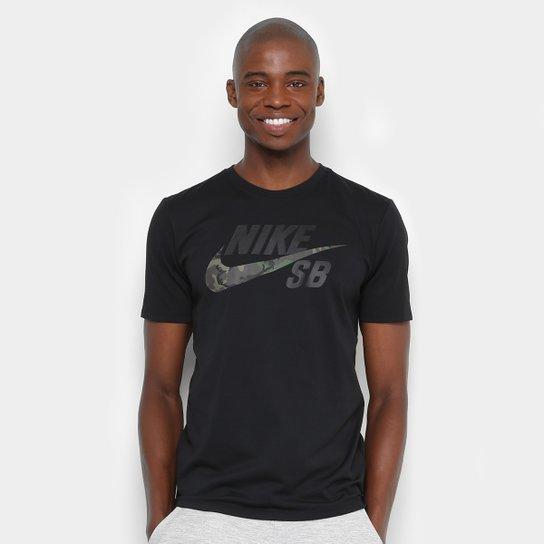 a1b41aef9 Camiseta Nike Sb Dry Dfc Camo Masculina - Compre Agora