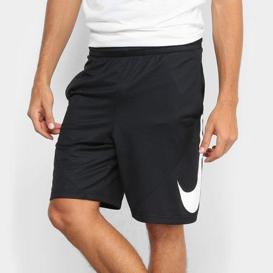 Bermuda Nike HBR Masculina - Preto - Compre Agora  123e0d929511f