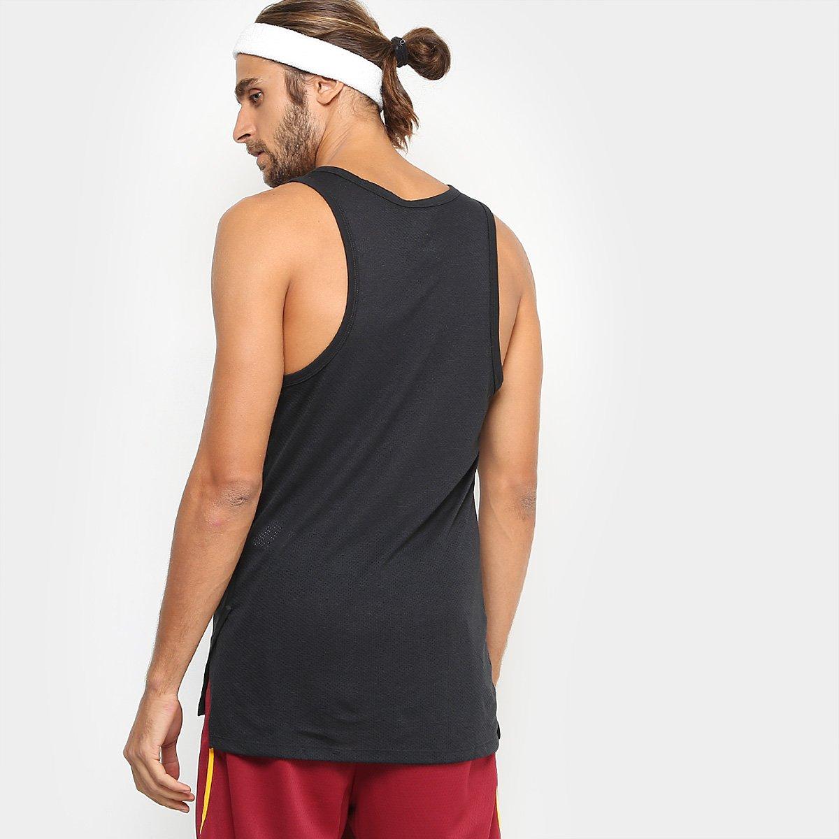 b3de857911 ... Foto 2 - Regata Nike Elite Top Masculina ...