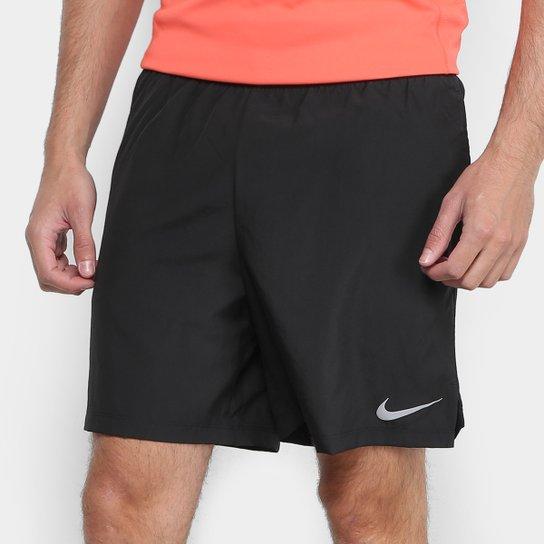 a989409824 Bermuda Nike Challenger BF 7 In Masculina - Preto - Compre Agora ...