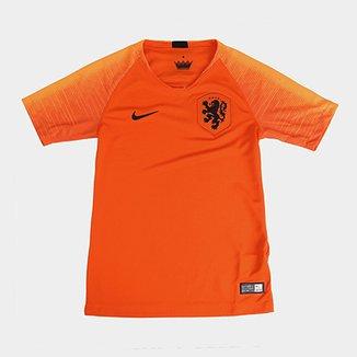 Camisa Seleção Holanda Juvenil Home 2018 s n° - Torcedor Nike 756fd7f9817a4